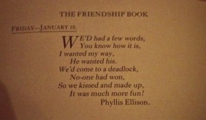 Friendship-poem